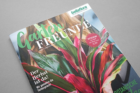 bellaflora customer magazine