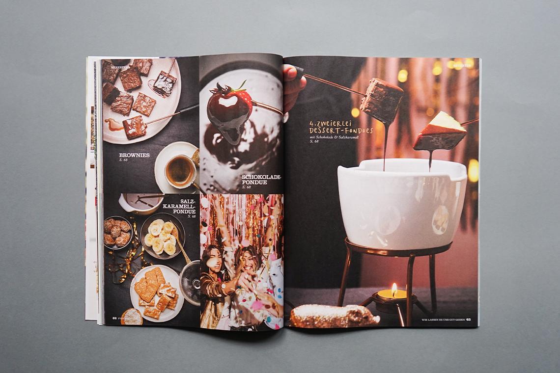 friends Ausgabe 10 Silvester Fondue