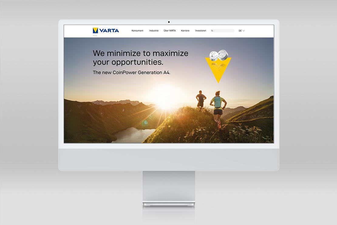 Varta Website